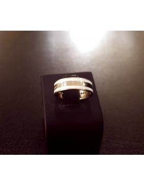 Prsten sa dragim kamenjem karika