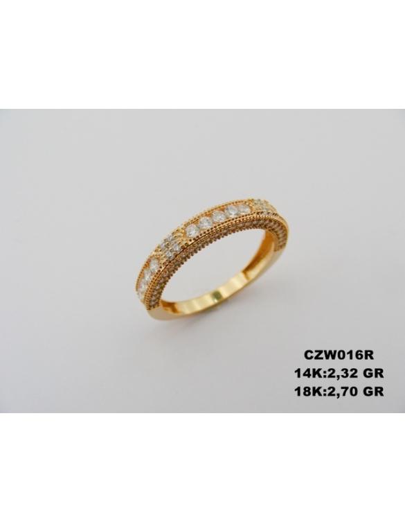 Prsten kombinacija zlata