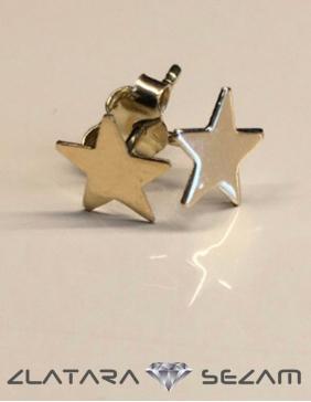 Zvezdica minđuše od zutog zlata